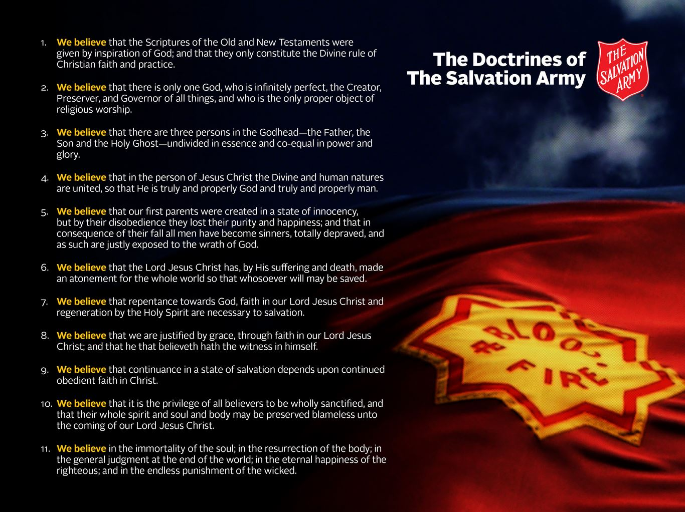 Lesson 10 covenant soldiership armyofcompassion the salvation army doctrines toneelgroepblik Images