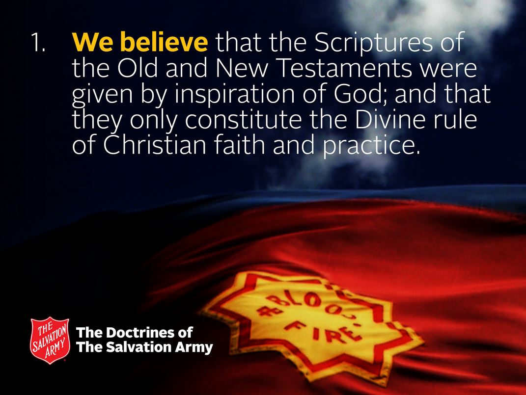 Salvation Army Doctrines ppt